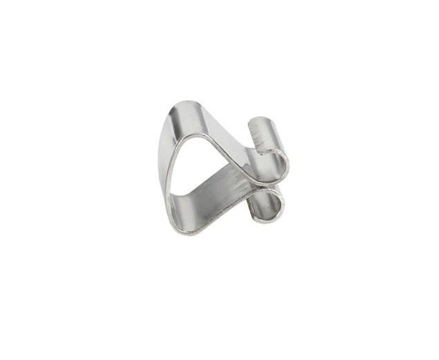 Зажимы для клеммерных рам, 8 мм толщина х 7 мм длина, закаленная сталь с никелевым покрытием фото
