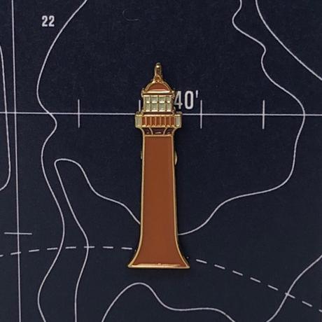 Значок эмалированный Передний Кронштадтский маяк.