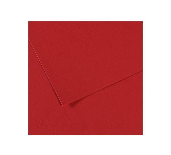 Купить Бумага для пастели Canson MI-TEINTES 75x110 см 160 г №116 бордо, Франция