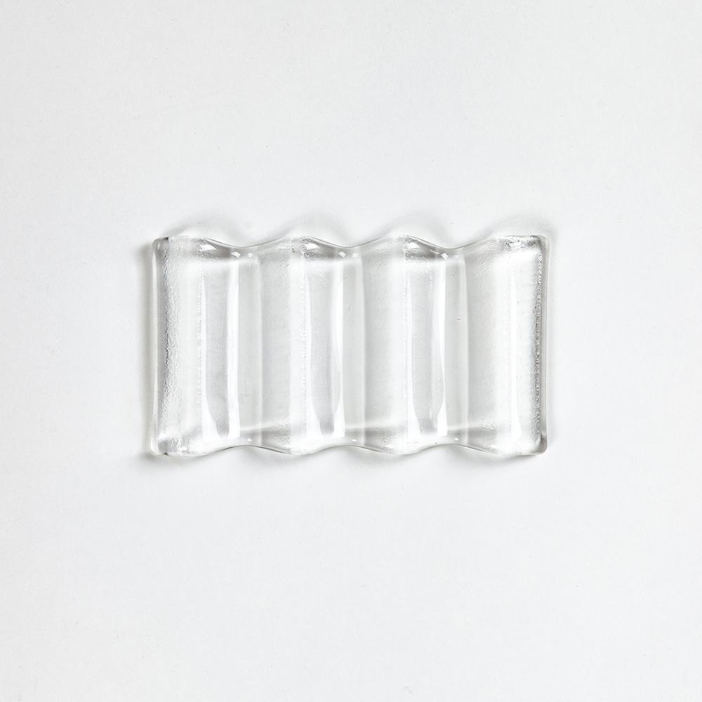 Купить Стеклянная подставка под инструменты, цвет Кристал, Vasuri Glass, Россия