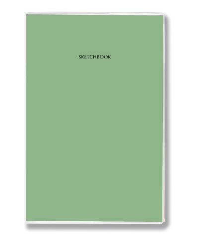 Купить Скетчбук для маркеров Sputnik Handy marker pro 14х21 см 20 л 220 г, зеленый чай, Россия