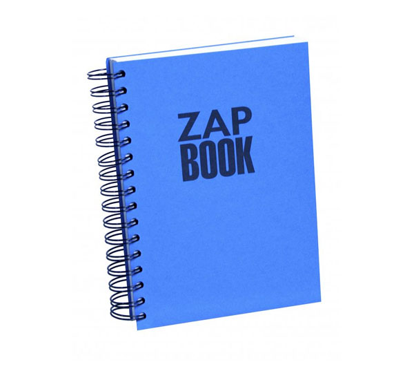 Купить Блокнот для эскизов на спирали Clairefontaine Zap Book А5 160 л, Франция