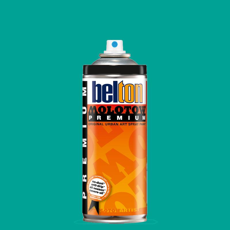 Аэрозольная краска Molotow Premium belton 400 мл #235-1 NEON terquoise, Германия  - купить со скидкой