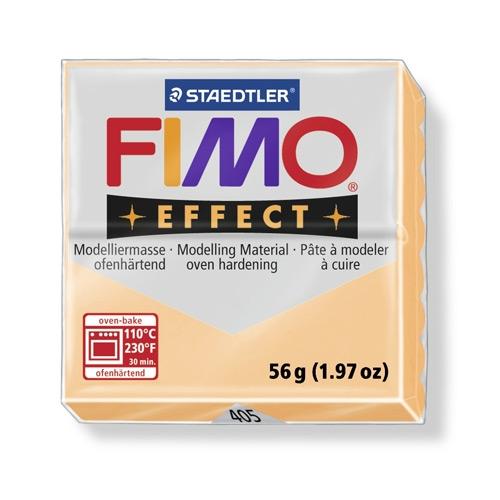 Купить Пластика для запекания Staedtler Fimo Effect 56 г персик, Германия
