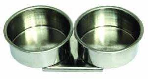 Купить Масленка двойная d-4, 5 см алюминиевая-цилиндр, без крышки, Китай