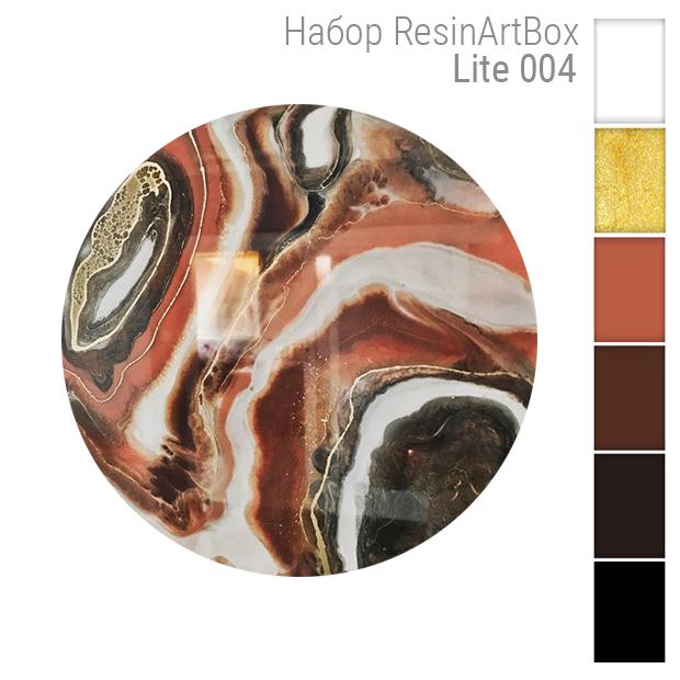 Купить Набор для создания картины из эпоксидной смолы ResinArtBox LITE 004 , Франция