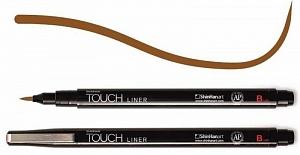 Купить Линер Touch Liner Brush коричневый, ShinHan Art (Touch), Южная Корея