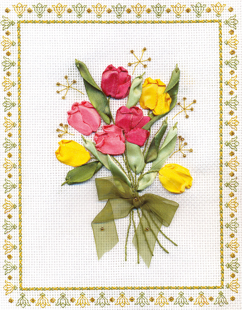 Купить Набор для вышивания PANNA Тюпаны , Gamma, Россия