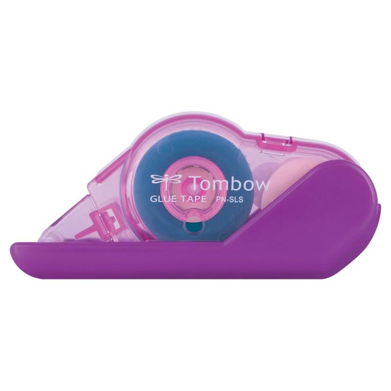 Купить Клеящий роллер Tombow Glue Tape 8, 4 мм*8 м, перманентный, корпус розовый, Япония