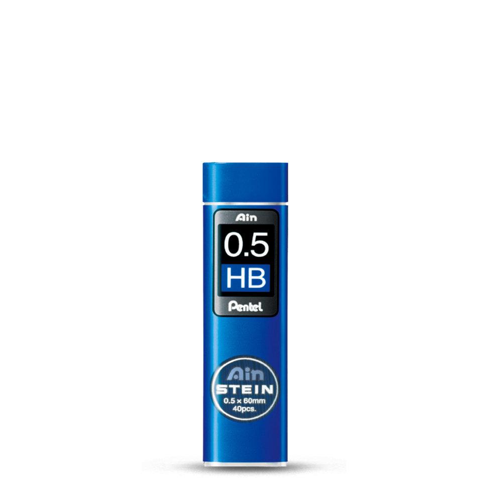 Купить Набор грифелей для механического карандаша Pentel Ain Stein 40 шт 0, 5 мм, HB, Япония