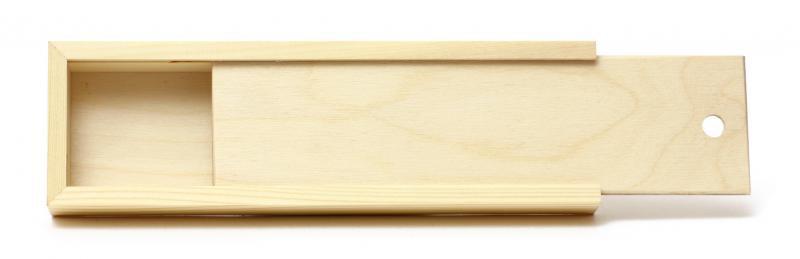 Купить Пенал для кистей Сонет , 380х100х40мм, сосна, Невская Палитра, Россия