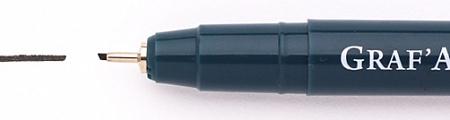 Купить Ручка капиллярная Малевичъ Graf'Art скошенная, 1, 00 мм, Россия