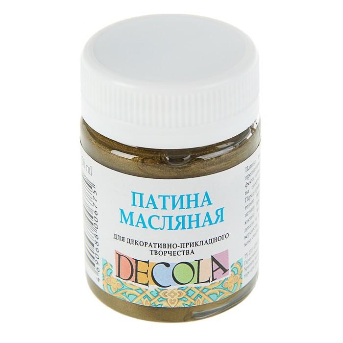 Купить Патина масляная Decola 50 мл Античное золото, Россия