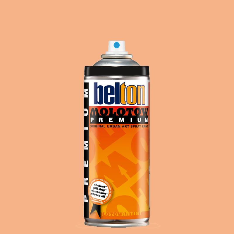 Купить Аэрозольная краска Molotow Premium belton 400 мл #025 peach, Германия