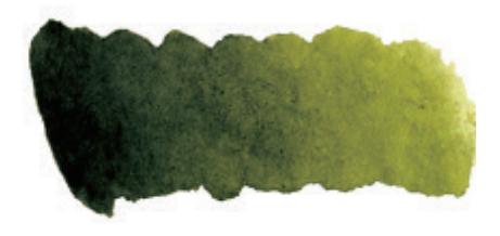 Купить Акварель Mijello Mission Silver Pan 333 Оливковый зеленый, Южная Корея