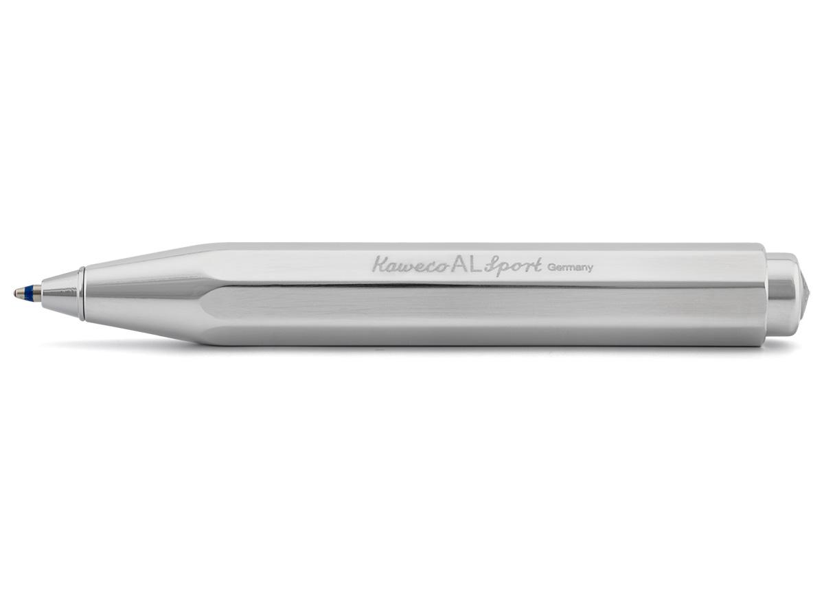 Купить Ручка шариковая Kaweco AL Sport 1, 0 мм, корпус серебристый, Германия