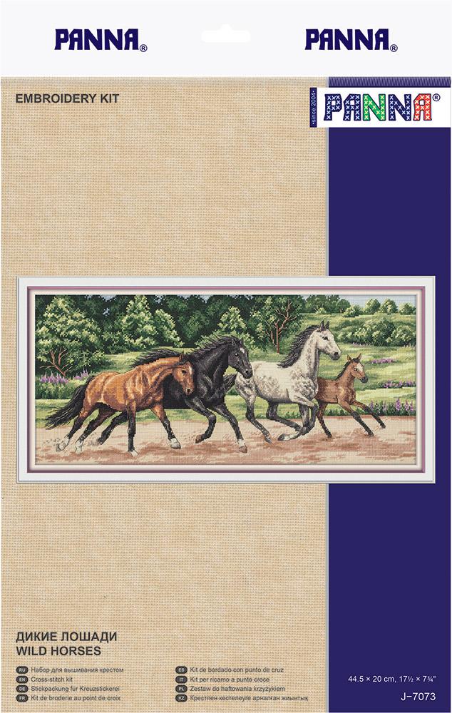 Купить Набор для вышивания PANNA Дикие лошади , Россия