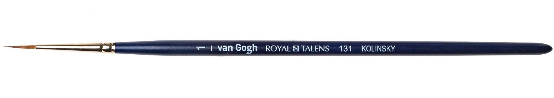 Купить Кисть колонок №1 круглая Van Gogh 131 короткая ручка, Royal Talens, Россия