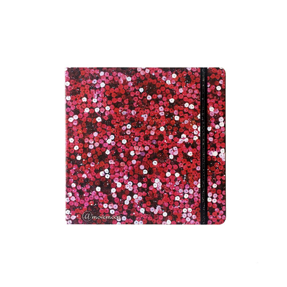 Купить Скетчбук акварельный Больше блеска. Красный 20х20 см 32 л 250 г хлопок 100%, Sketch Story, Россия