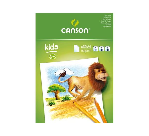 Купить Альбом-склейка для рисования Canson Детское творчество А3 30 л 90 г, Франция