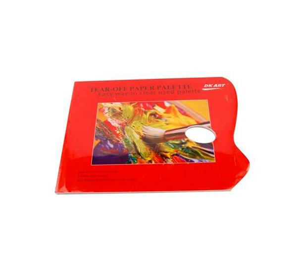 Купить Палитра бумажная 30х40 см 40 л 58 г, Китай