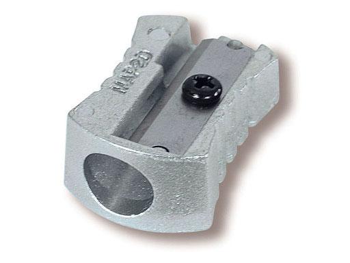 Купить Точилка для карандашей металлическая, 1 отверстие Metall (цвет корпуса серебро), MAPED, Китай