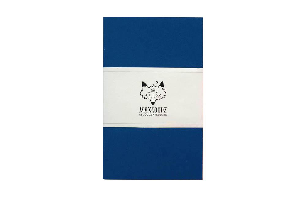 Купить Скетчбук для маркеров Maxgoodz Classic White А5, 32 л, 160 г Синий, Россия