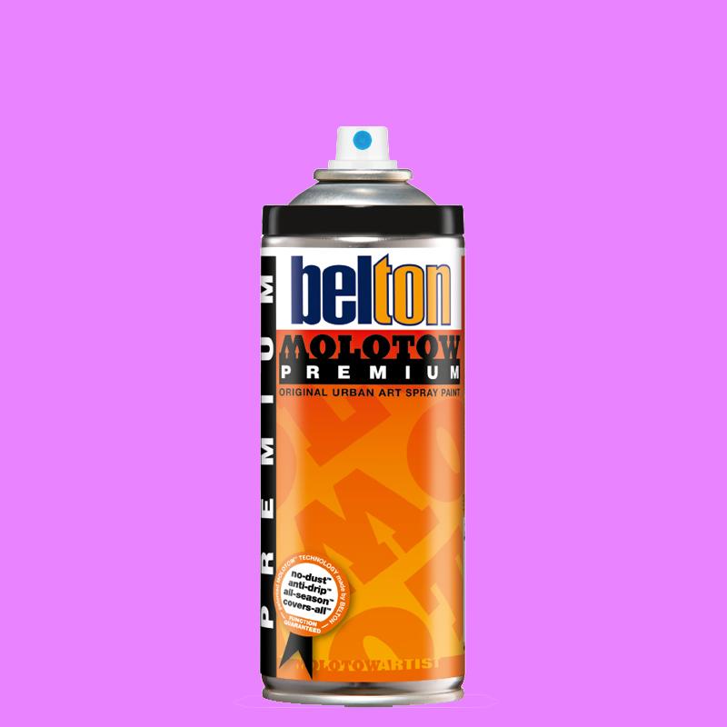 Купить Аэрозольная краска Molotow Premium belton 400 мл #234 NEON pink, Германия
