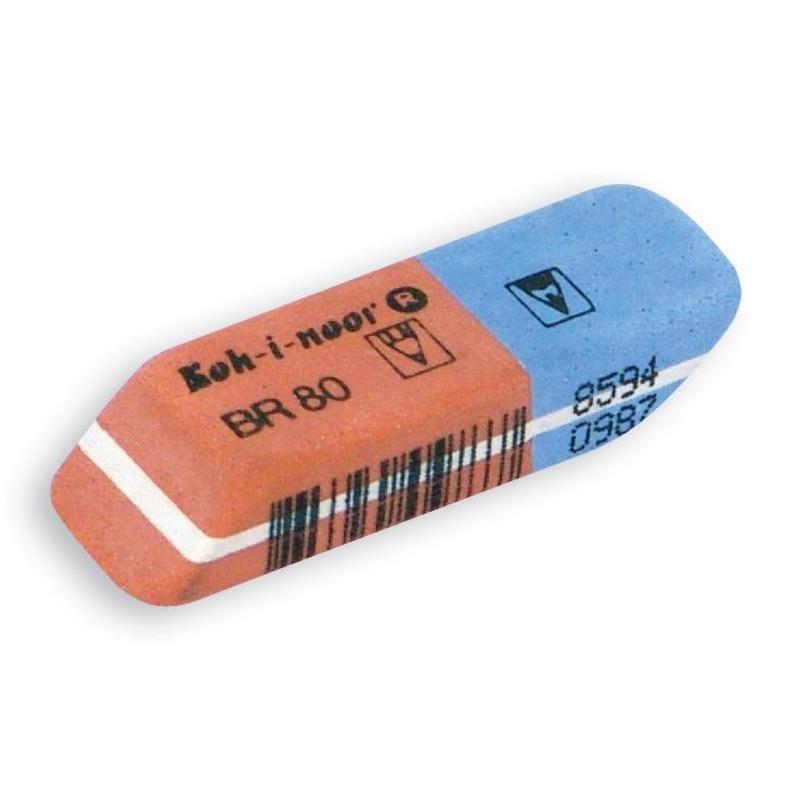 Купить Ластик KOH-I-NOOR комбинированный для чернил и туши, KOH–I–NOOR, Чехия