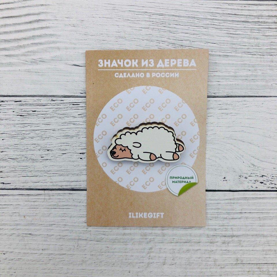 Купить Значок Sleeping Sheep , iLikeGift, Китай