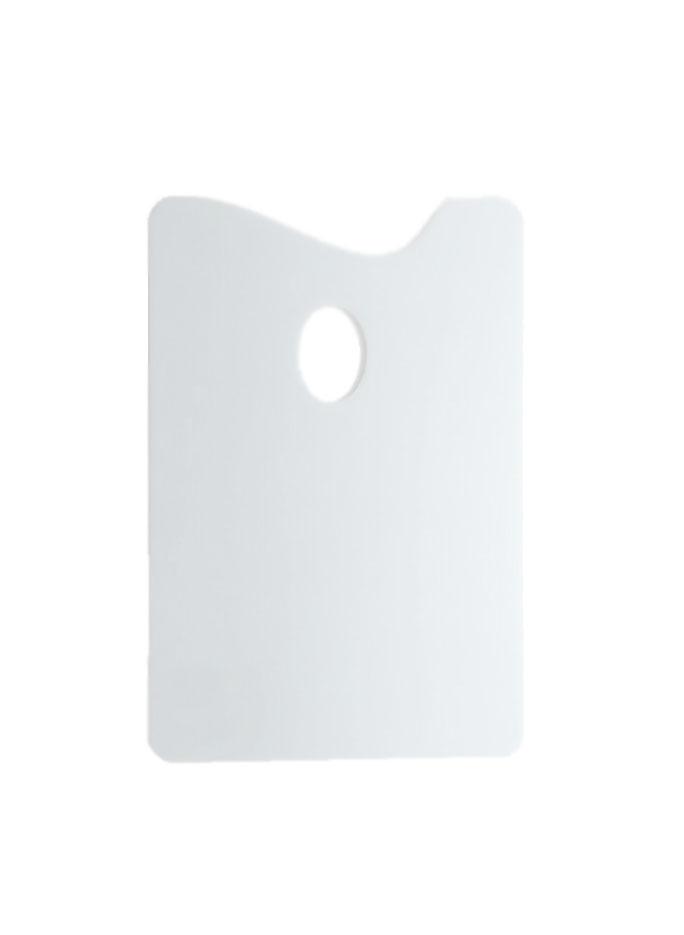 Купить Палитра акриловая прямоугольная 20х30 см, оргстекло 2 мм, цвет белый, Decoriton, Россия