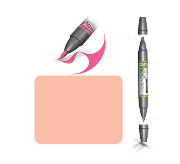 Маркер спиртовой FLEXMARKER цв. O228 розовый солнечный фото