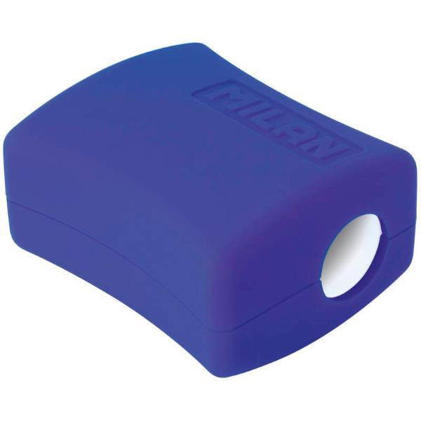 Купить Точилка MILAN пластиковая, 2 отверстия, с контейнером Double, Испания