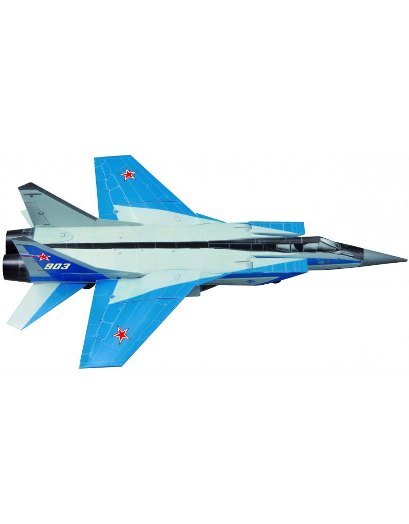 Сборная модель из картона Авиация Истребитель-перехватчик МИГ-31 , Умная бумага, Россия  - купить со скидкой