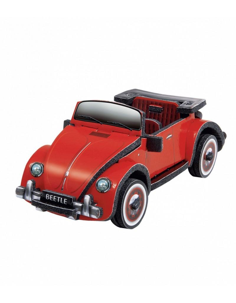 Купить Объемный пазл сборная игрушка Volkswagen Beetleм , Умная бумага, Россия