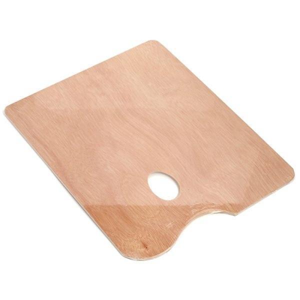 Купить Палитра деревянная прямоугольная (фанера) Сонет 40х50 см, 5 мм, Невская Палитра, Россия
