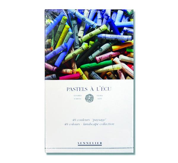 Купить Набор сухой пастели Sennelier A LECU 48 цв пейзаж, в картонной коробке, Франция