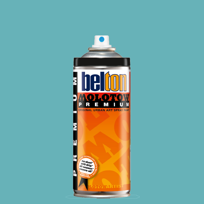 Купить Аэрозольная краска Molotow Premium belton 400 мл #120 verdigris, Германия