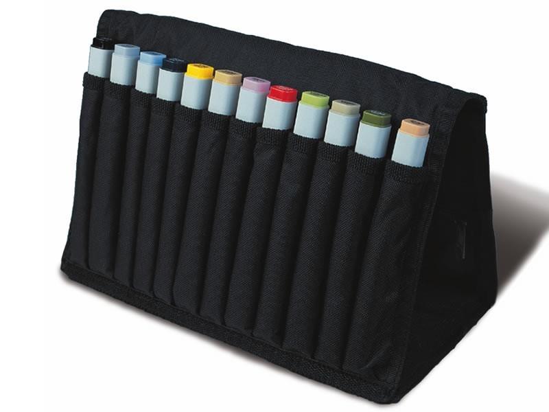 Купить Набор маркеров двухсторонних COPIC 12 шт базовый, в пенале, Copic Too (Izumiya Co Inc), Япония