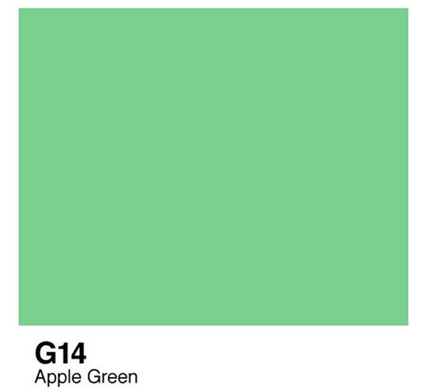 Купить Чернила COPIC G14 (зеленое яблоко), Copic Too (Izumiya Co Inc), Япония