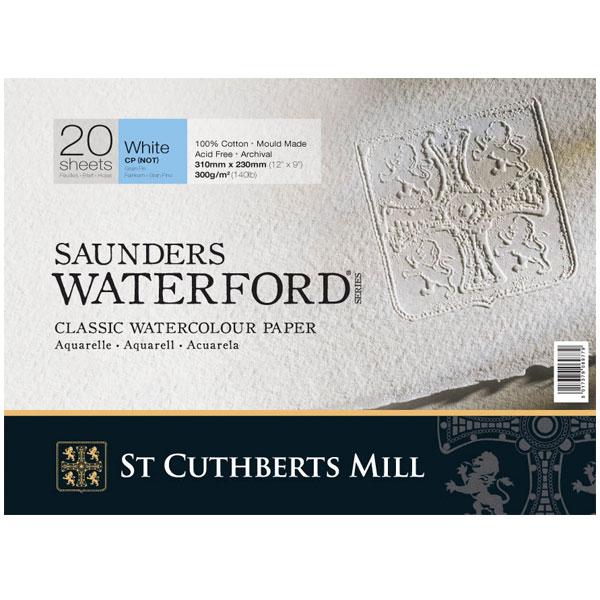 Купить Альбом-склейка для акварели Saunders Waterford C.P., St Cuthberts Mill, Великобритания