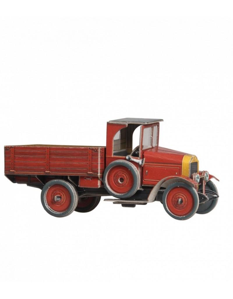 Купить Сборная модель из картона Транспорт Грузовик АМО , Умная бумага, Россия