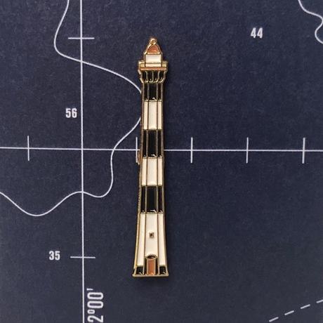 Значок эмалированный Задний Створный маяк.