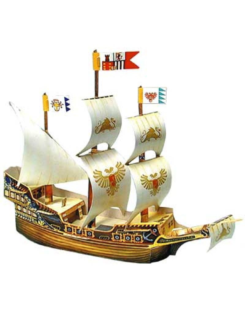 Купить Сборная модель из картона Золотой дракон , Умная бумага, Россия
