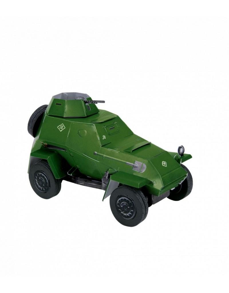 Купить Сборная модель из картона Авто Бронеавтомобиль БА-64б , Умная бумага, Россия