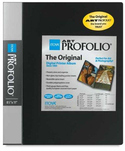 Купить Папка-портфолио Itoya Art Profolio The Original полипропилен 21, 5*28 см 12 вкладышей, Китай