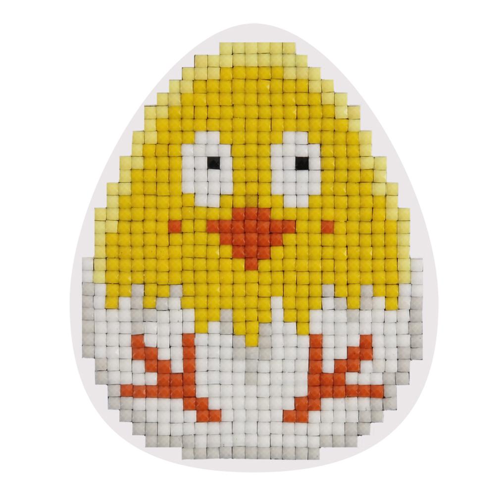 Купить Кристальная мозаика ФРЕЯ магнит Цыпленок 8х6, 5 см, Россия