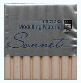 Купить Пластика для запекания Sonnet 56 г Телесный светлый, Сонет, Россия