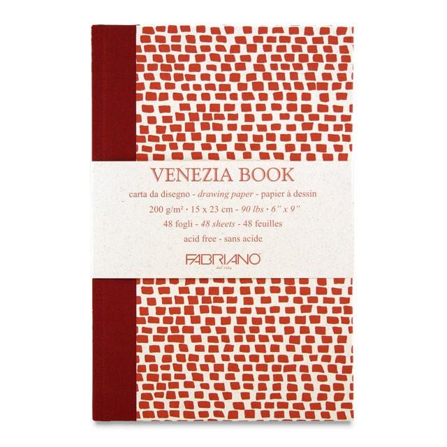 Купить Блокнот для эскизов Fabriano Venezia Book 15x23 см 48 л 200 г, Италия