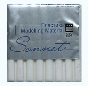 Купить Пластика для запекания Sonnet 56 г Белый, Сонет, Россия